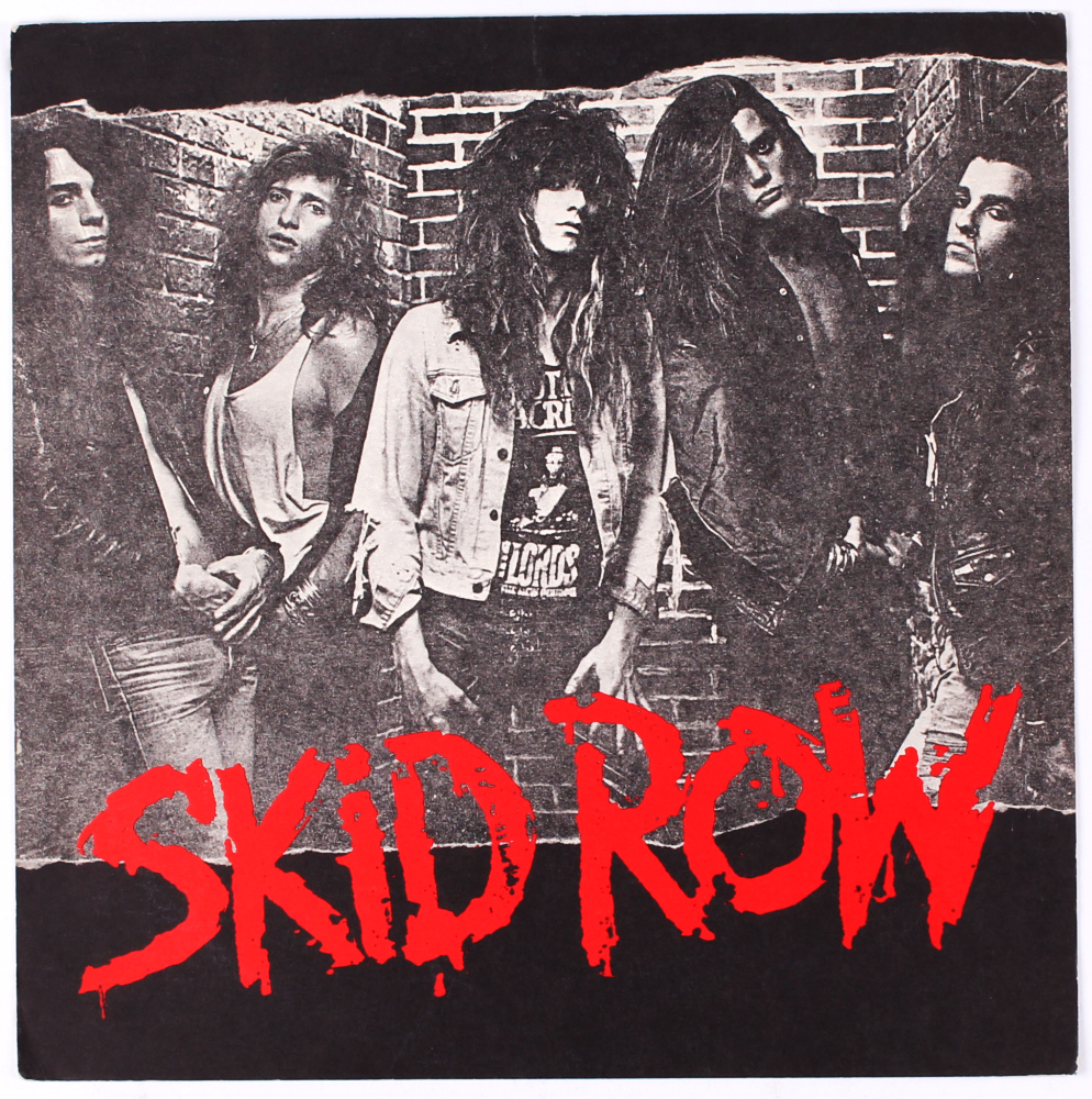 SKID ROW Self Titled Debut Album Released On January 24, 1989