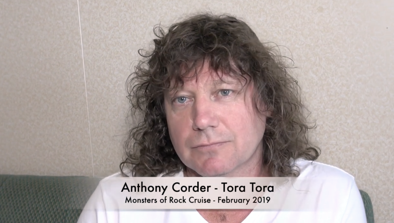 Anthony Corder Of Tora Tora