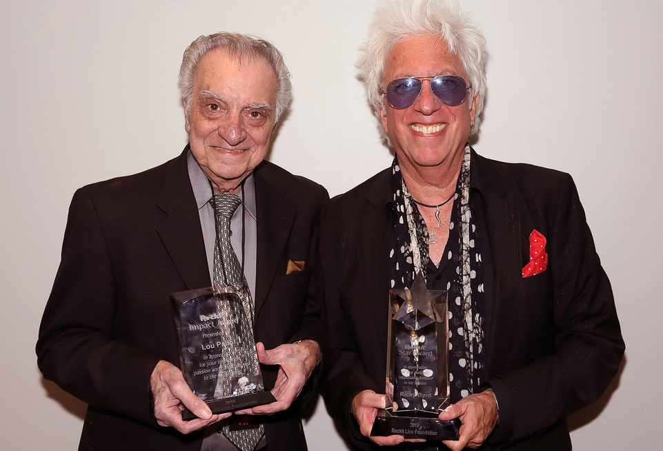 2019 Rockit Live Foundation Gala Honoring Ricky Byrd And ROCKIT Impact Award Presentation To Lou Pallo – August 22, 2019